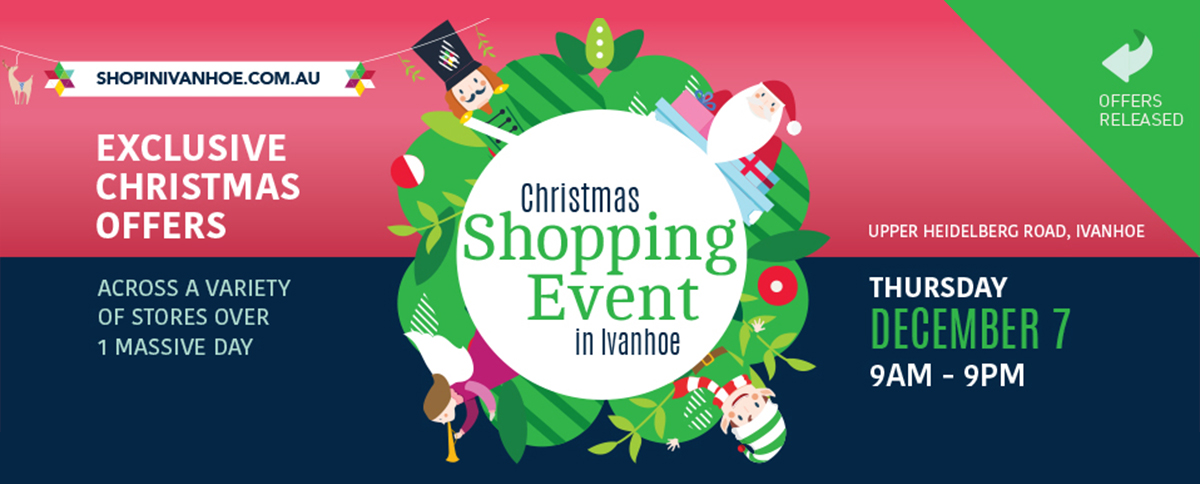 Ivanhoe Christmas Shopping Event