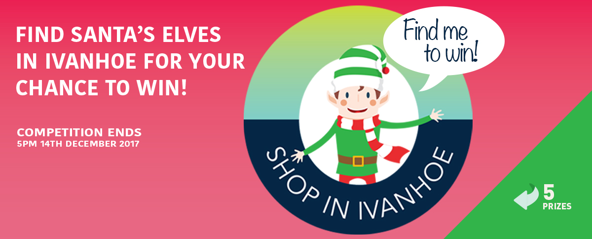 Find Santa's Elves in Ivanhoe