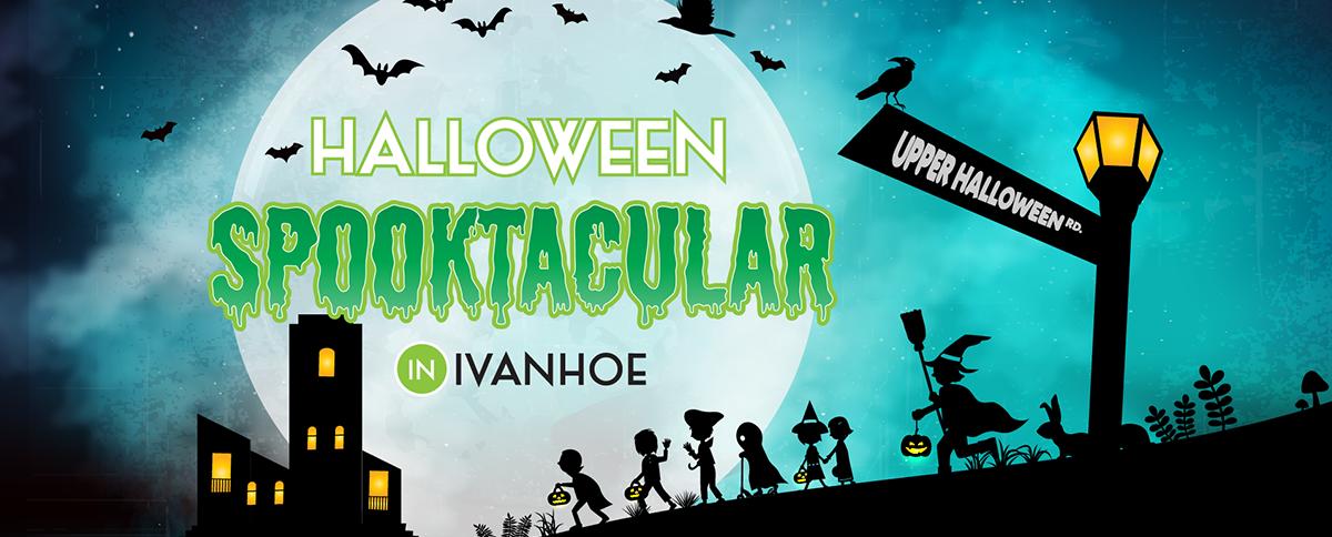 Halloween in Ivanhoe