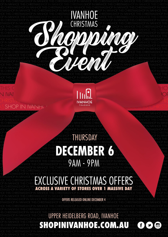 Ivanhoe Christmas Shopping Event