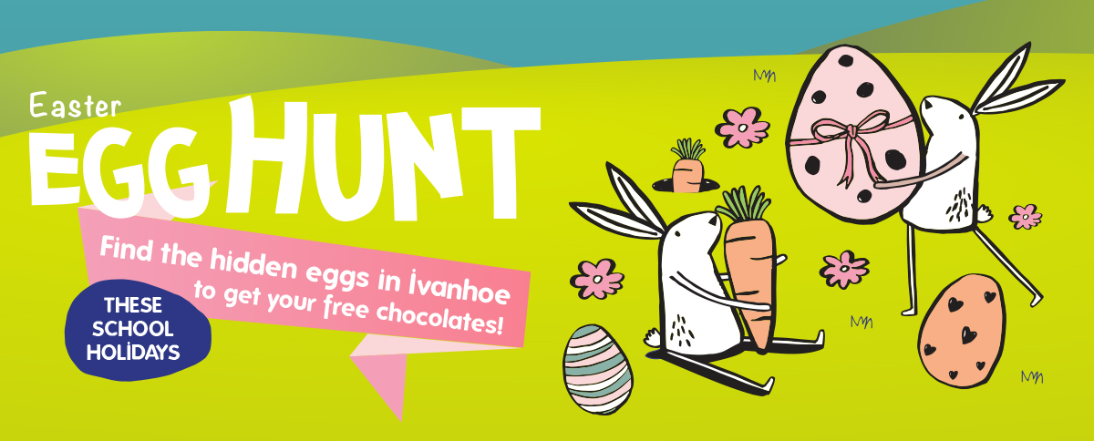 Ivanhoe Easter Egg Hunt