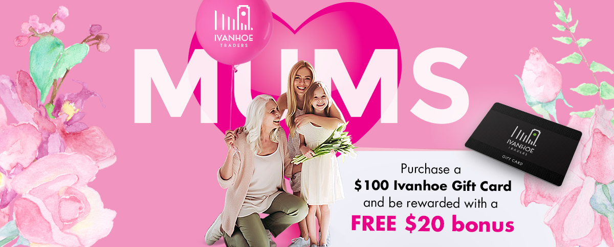 Mother's Day Gift Cards Ivanhoe