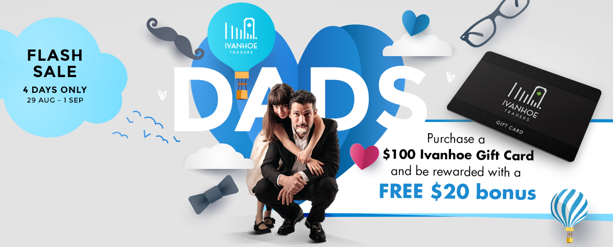 Father's Day gift cards Ivanhoe Melbourne