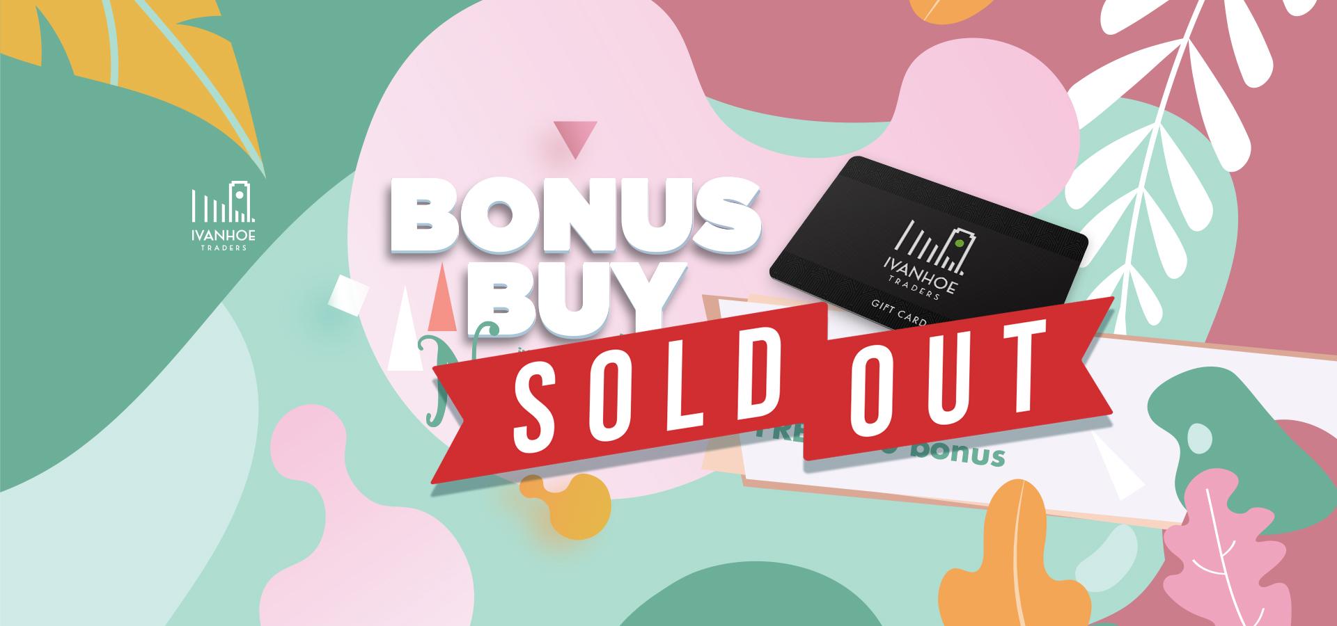 ITA-0096 Bonus-Buy-2020-Home-Sold-Out