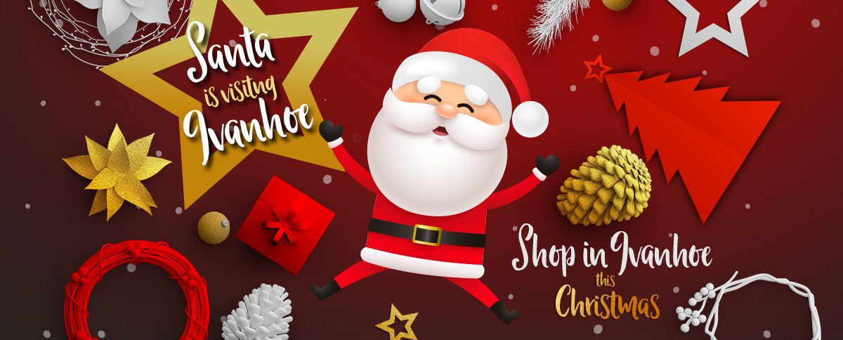 Santa in Ivanhoe